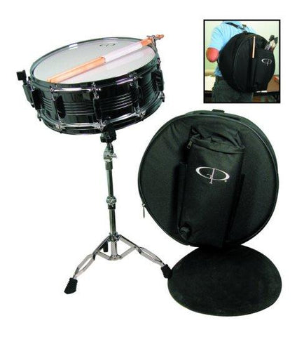 GP Percussion SK22 Student Snare Drum Kit with Stand and More - Musical Instruments - Fits My Budget