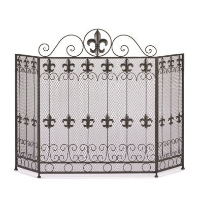 French Revival Fireplace Screen 10015400 Free Shipping - House Home & Office - Fits My Budget
