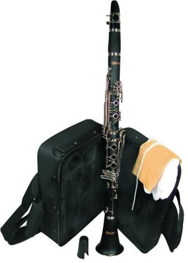 Mirage Wood Grain Bb B Flat Student Clarinet with Soft Case TTC50WA - Musical Instruments - Fits My Budget