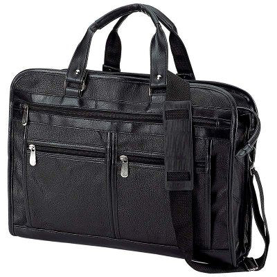 Embassy Solid Genuine Leather Portfolio Briefcase BCLBCCH - Luggage & More - Fits My Budget
