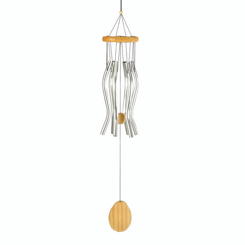 "Classic Wavy Windchimes 26"" 10017700 Free Shipping - House Home & Office - Fits My Budget"
