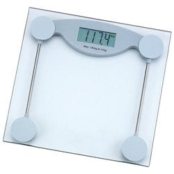 HealthSmart Glass Electronic Bathroom Scale ELSCALE3 - Health & Beauty - Fits My Budget