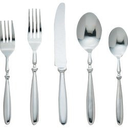 Nikita FW20 Bistro 20 piece Stainless Steel Flatware Set heavy flatware FREE SHIPPING - House Home & Office - Fits My Budget