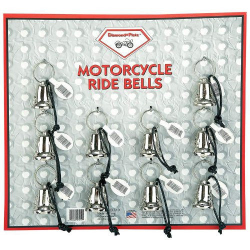 Diamond Plate GFBELL10 Motorcycle Bells 10 Pieces Free Shipping - Apparel & Accessories - Fits My Budget