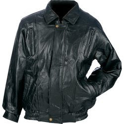 Maxam Leather Jacket Italian Mosaic Design Top Grain Lambskin GFCOAT FREE SHIPPING - Apparel & Accessories - Fits My Budget