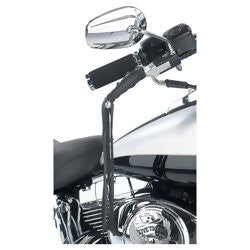 Diamond Plate GFLEVER Genuine Leather Black Motorcycle Lever Covers - Luggage & More - Fits My Budget