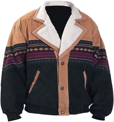 Casual Outfitters GFSW Suede Southwestern Jacket Small Free Shipping - Apparel & Accessories - Fits My Budget