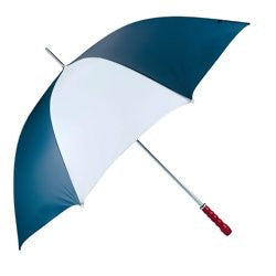 "All Weather 60"" white & navy Golf Umbrella GFUM60 - Sports & Games - Fits My Budget"