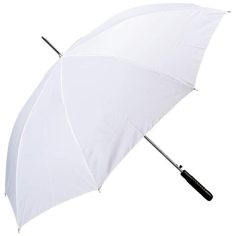 "White All-Weather 48"" Polyester Auto Open Umbrella GFUMP48WHITE - Sports & Games - Fits My Budget"