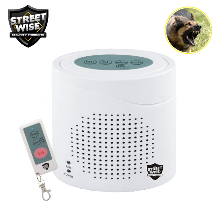 Streetwise Virtual K9 Electronic Barking Watch Dog with Remote Control - Safety & Security - Fits My Budget