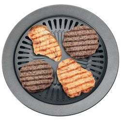 Chefmaster KTGR5 Smokeless Indoor Nonstick Stovetop Barbeque Grill Free Shipping - House Home & Office - Fits My Budget