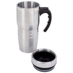 Maxam KTMUG16 16 ounce Stainless Steel Tumbler - House Home & Office - Fits My Budget
