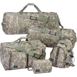 Extreme Pak LUCAMSDC Digital Camo Luggage Set 5 Piece Free Shipping - Luggage & More - Fits My Budget