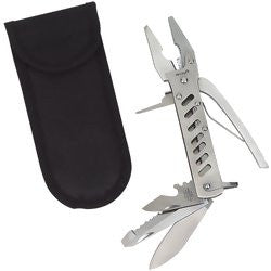 Pliers Plus 14-Function Tool by Maxam with Heavy-Duty Kelvlon Sheath MTPLIER - Tools - Fits My Budget