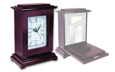 PSP RGC Handgun Concealment Rectangle Clock Mahogany Free Shipping - Safety & Security - Fits My Budget