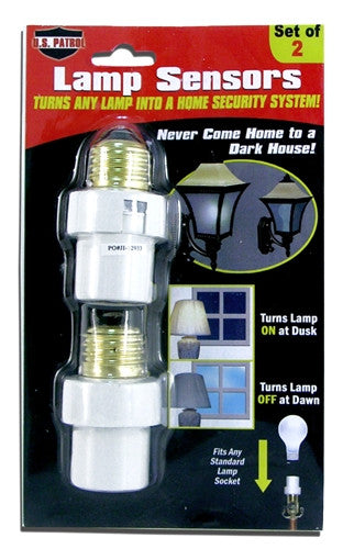 US Patrol RET2735 Lamp Light Automatic Sensors Free Shipping - Safety & Security - Fits My Budget