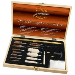 Classic Safari SPGUNCLN Deluxe Cleaning Kit in Wood Case Free Shipping - Sports & Games - Fits My Budget