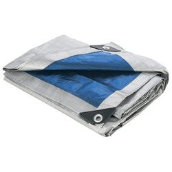 Maxam SPTARP7 50x50 All Purpose Waterproof Weatherproof Reinforced Tarp Free Shipping - Sports & Games - Fits My Budget
