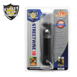 Streetwise 18 Pepper Spray 1/2 oz Soft Case Black SW3BK18 - Safety & Security - Fits My Budget