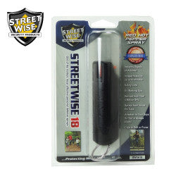Streetwise 18 Pepper Spray 1/2 oz Hard Case Black SW3HBK18 - Safety & Security - Fits My Budget
