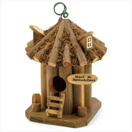 Bed and Breakfast Birdhouse 10012606 Free Shipping - House Home & Office - Fits My Budget