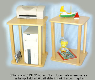 Wild Zoo Prodigy CPU Printer Stand - House Home & Office - Fits My Budget