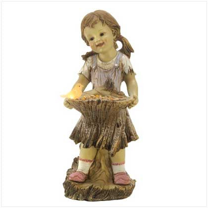 Sweet Summertime Solar Statue 10013914 Free Shipping - House Home & Office - Fits My Budget