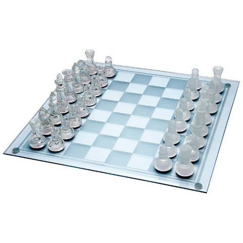 Maxam SPCHESS Glass Chess Set Free Shipping - Sports & Games - Fits My Budget