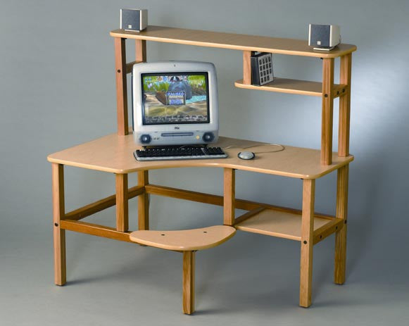 Wild Zoo Child's Child Grade School Computer Desk Free Shipping - House Home & Office - Fits My Budget