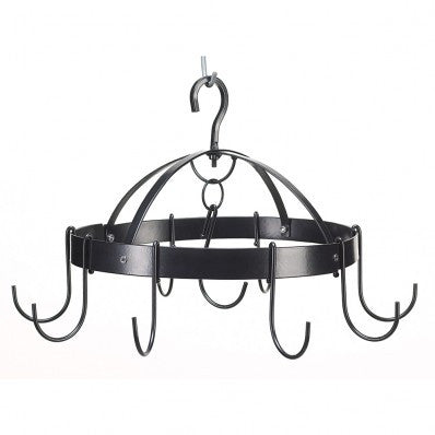 Mini Round Hanging Pot Holder Rack 10039003 Free Shipping - House Home & Office - Fits My Budget