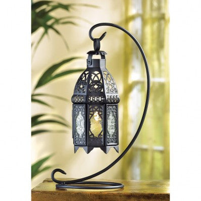 Moroccan Tabletop Black Lantern 10038566 Free Shipping - House Home & Office - Fits My Budget