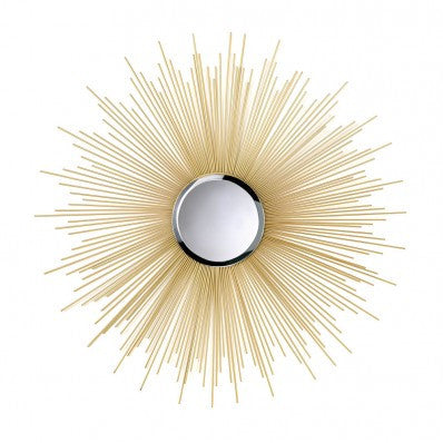 Golden Rays Wall Mirror 10015862