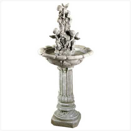 Playful Cherubs Outdoor Garden Water Fountain 10033631 Free Shipping - House Home & Office - Fits My Budget