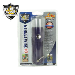 Streetwise 18 Pepper Spray 1/2 oz Soft Case Purple SW3PR18 - Safety & Security - Fits My Budget