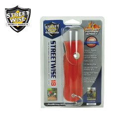 Streetwise 18 Pepper Spray 1/2 oz Soft Case Red SW3RD18 - Safety & Security - Fits My Budget
