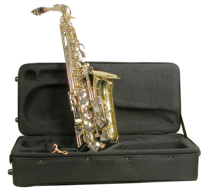 Mirage SX60ANI Student Alto Nickel Finish Saxophone Nickel - Musical Instruments - Fits My Budget