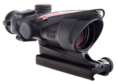Trijicon TA31F Acog 4X32 Red Chevron Flattop Riflescope Free Shipping - Outdoor Optics - Fits My Budget
