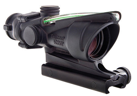 Trijicon TA31FG Acog 4X32 Green Chevron Flattop Adapter Riflescope Free Shipping - Outdoor Optics - Fits My Budget