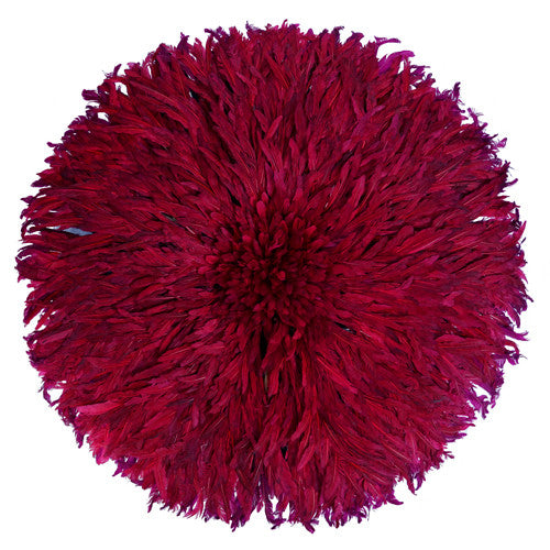 juju hat juju hats Beet Deep Red color african juju hat wall decor feather headdress for sale cameroon wall hanging bamileke hat
