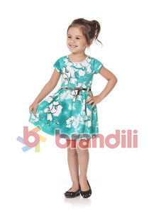 Belted Flower Dress