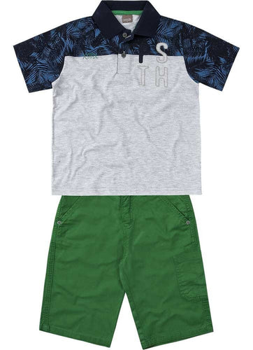 Polo & Shorts Set