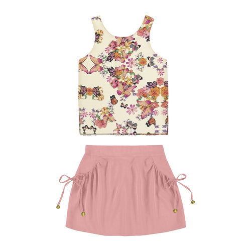 KidKlick-Matching Sets-Off-White/Pink-4-Alakazoo