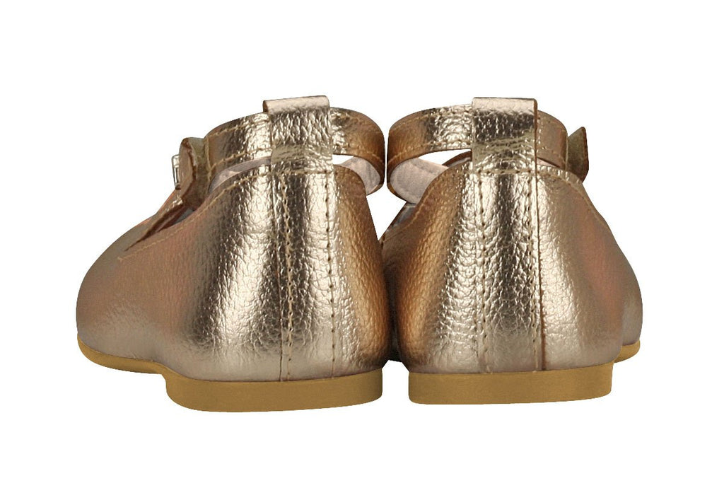 KIDKLICK FUN FASHION Sizes 5.5 Toddler - 10.5 Little Kid FROM BRAZIL Girls Butterfly Wings Mary Jane in Gold
