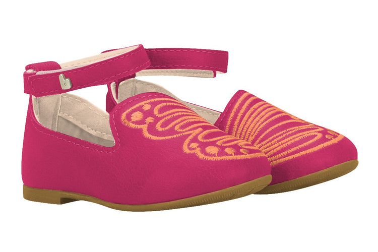 Girls Butterfly Wings Mary Jane in Pink (Sizes 5.5 Toddler - 10.5 Little Kid)