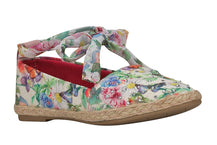 "Girls ""Joy"" Espadrilles in Floral Print Canvas (Sizes 4 Toddler - 5 Big Kids)"