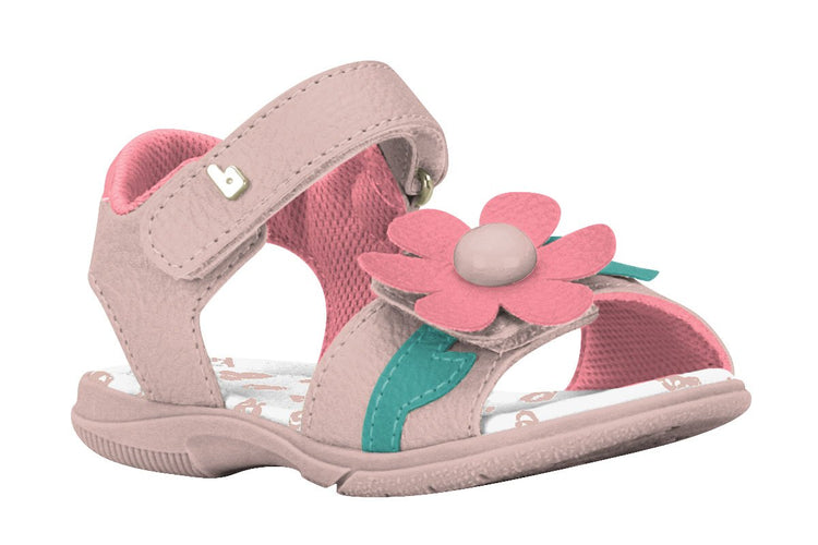Girls Daisy Sandals in Pink (Sizes 5.5 Toddler - 10 Little Kid)
