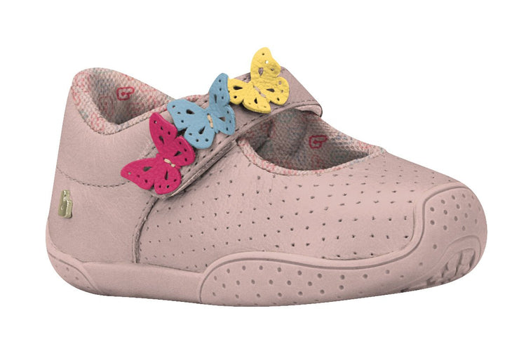 Girls Butterflies Mary Jane in Pink (Sizes 5.5 Toddler - 10.5 Little Kid)