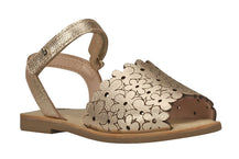 "Girls ""Flowers"" Sandal in Gold (Sizes 9.5 Little Kid - 5 Big Kid)"