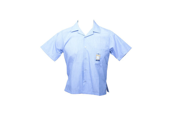 Short Sleeve Blue Shirt – OLV
