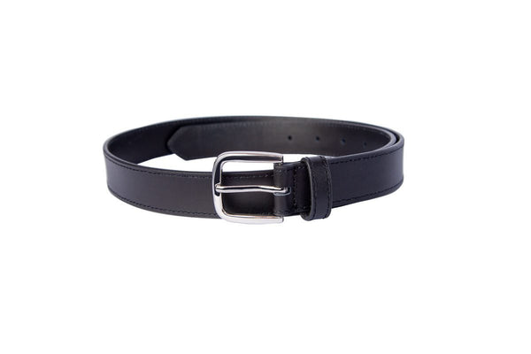 Black Leather Belt -SG